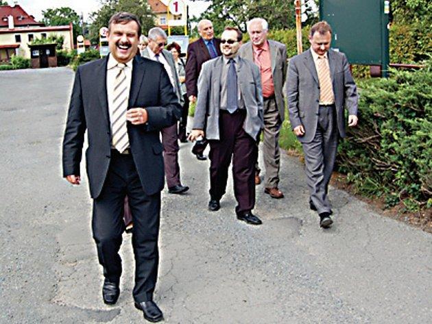 Poslanci přijeli také na návštěvu Konstantinových Lázní.