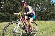 Triatlon 2021 u Kladrub.