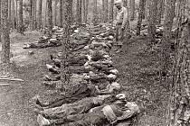 U bavorského Tittlingu našli Američané krátce po válce osm set těl zastřelených vězňů z transportu, který vězně přivezl na nádraží do Tachova a dále pokračoval pěšky.