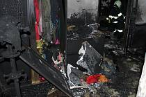NEDĚLNÍ POŽÁR v pokoji rodinného domu ve Vranově u Stříbra způsobil škody předběžně odhadnuté na půl milionu korun. Příčinou byla pravděpodobně závada na počítači.