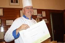 Úspěšný kuchař Josef Kratochvíl.