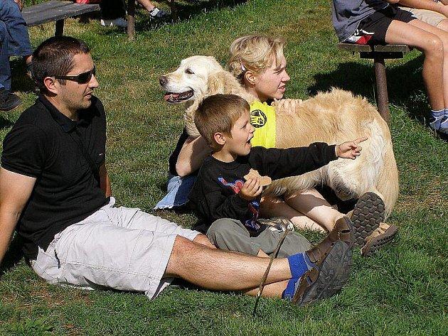 Konec prázdnin si užily děti v Kladrubech na akci Ahoj prázdniny.