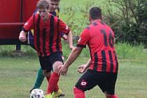 Hráči Bernartic se po výhře ve Ctiboři posunuli do čela tabulky okresní fotbalové IV. třídy.