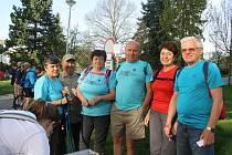 Sobotní slunečné počasí do Plané přilákalo rekordní počet turistů. Na startu Plánské padesátky se jich sešlo přes osmnáct set.