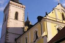 Kostel Všech svatých ve Stříbře.