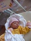 Nela (3,11 kg, 51 cm) se narodila 8. května v 7:15 v plzeňské fakultní nemocnici. Z příchodu na svět své prvorozené holčičky se radují rodiče Martina a Zdeněk Uhlíkovi z Vesné u Tachova.