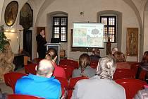 Ornitolog Martin Pudil, Muzeum Českého lesa, Vernisáž výstavy Když ptáčka lapají