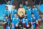 Fotbalová přípravka Baníku Stříbro skončila na turnaji Trefto Cup v Němčovicích pátá. Foto: fb TJ Baník Stříbro.