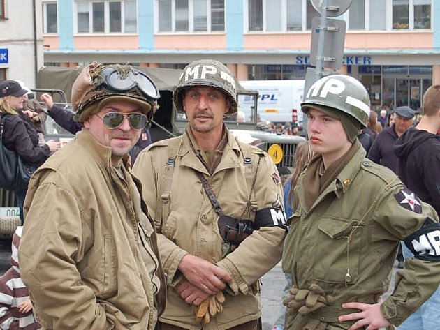 Convoy of Remembrance 1945, Tachov