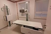 Nové rentgenové pracoviště a jeho čekárna.