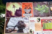 Plakátovací plochy zdobí fotografie Jana Pakosty.