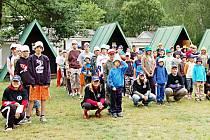 Mezi dětmi nejoblíbenější destinace patří klasické letní tábory.