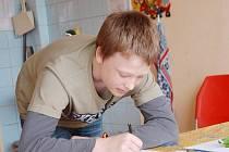 Okresní soutěže mladých zahrádkářů se zúčastnil také Michal Budek ze Základní školy Mánesova Stříbro.