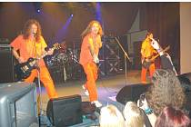Hardrockové skupiny zaplnily sál v Lidovém domě.