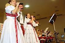 Hanácká Věrovanka (na snímku) přilákala do sálu tachovské Mže necelé dvě stovky návštěvníků.