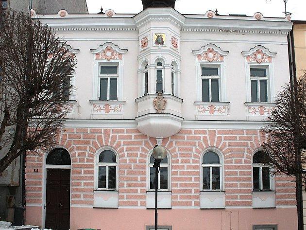 Budova, kde bude od začátku února MKS Tachov a informační centrum