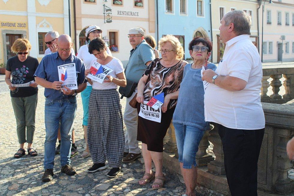 Plánský farář Jaroslav Šašek při různých akcích.