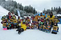 Školička lyžování