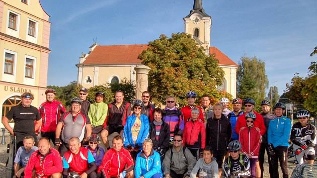 Start Babického štípance 2014.