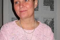 Tachovská výtvarnice Svatava Horáčková .