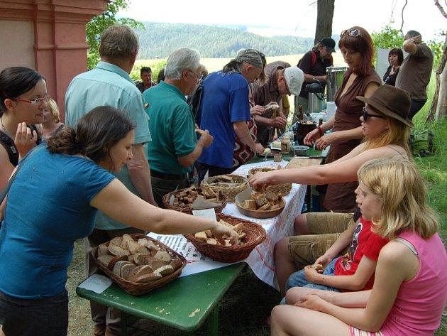 Chlebomáslové slavnosti se konaly v zaniklé obci Záhoří