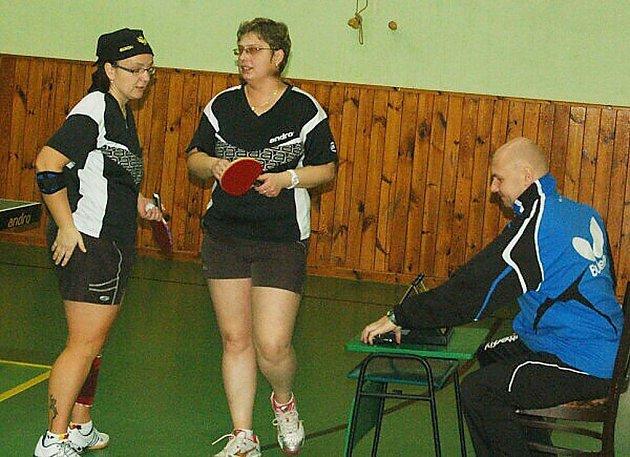 Stolní tenis – 2. liga žen: Družstvo S. Bor střechy Homolka porazilo Un. Plzeň B 9:1