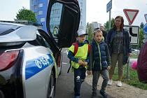 Na dopravním hřišti v Tachově se uskutečnil preventivní den na téma bezpečnosti na silnici i mimo ní.