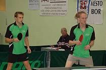 Stolní tenis–2. liga: S. Bor Eissmann–T. Sedlčany 4:10