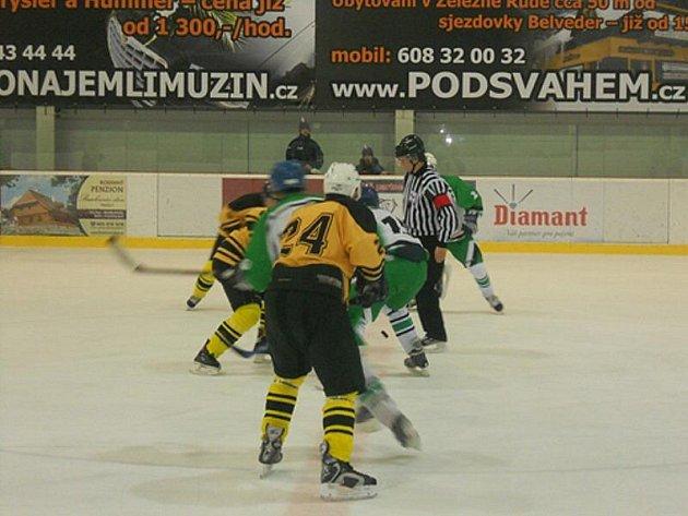 Lední hokej: Bezdružičtí zdolali Čechii Příkosice, k obratu dvěma góly zavelel Bottcher
