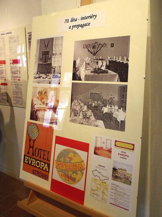 Stříbrské muzeum se stalo centrem slavnostní vernisáže výstavy Byl jednou jeden hotel.