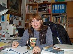 JANA HUTNÍKOVÁ, dlouholetá ředitelka Muzea Českého lesa v Tachově.