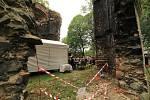 Mezi ruinami vzpomínal Zdeněk Troška na natáčení pekelných scén