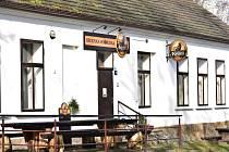 Obecní hospoda v Brodu u Stříbra.