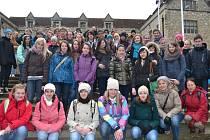 STUDENTI GYMNÁZIA z Tachova se vydali na šestidenní poznávací výlet.