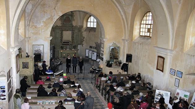 MARTINSKÉ SETKÁNÍ v  kostele sv. Martina.