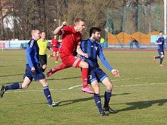 Domácí FK Tachov porazil v prvním jarním mistrovském utkání SK Zápy 2:1.