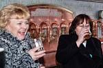 Z návštěvy první dámy Ivany Zemanové v rodinném pivovaru Chodovar v Chodové Plané.