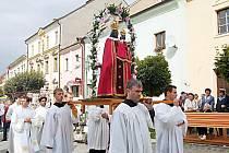 Borskou Madonu na její pouti do Lorety vyprovázeli nejenom věřící z Čech, ale také z ciziny