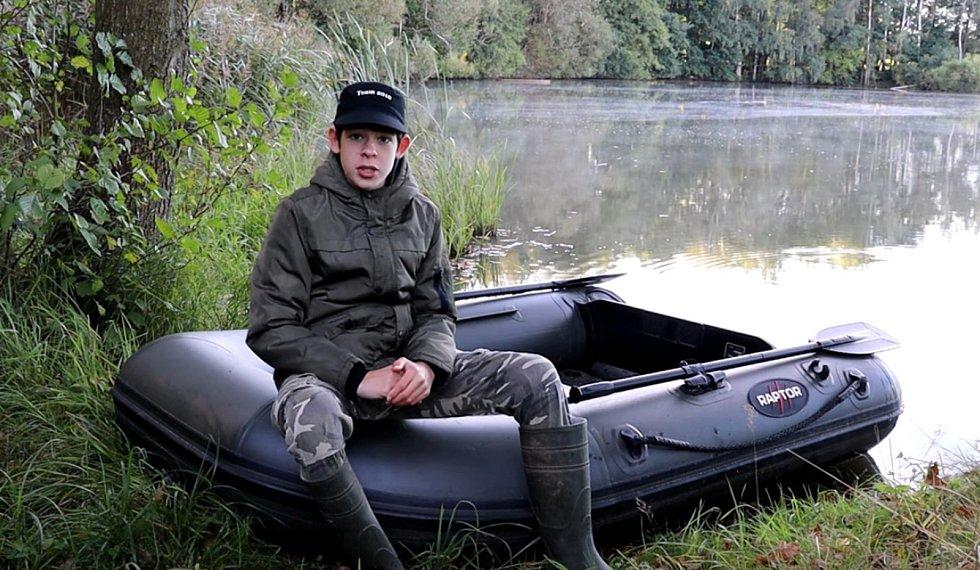 Matěj Houška v zapomenutém revíru na Tachovsku.