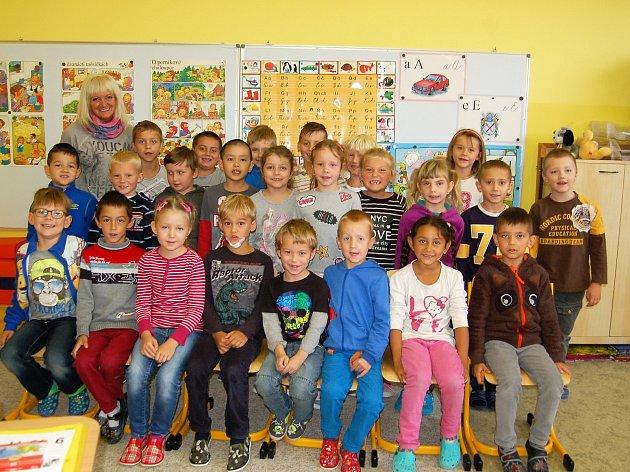 Představujeme prvňáčky - 1.třída Základní školy Kostelní Tachov. Třídní učitelka Lenka Hradilová.