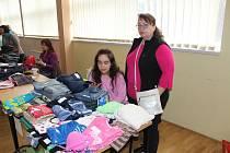 Burza dětského oblečení v Tachově.