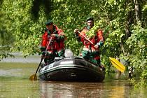 Záchranná služba Royal Rangers z Černošína zasahovala v prvním týdnu povodní