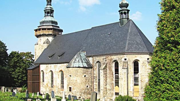 Netradiční prohlídka zavede diváky i do doby, kdy se stavěl kostel sv. Jiří (na snímku).
