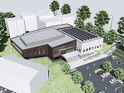 Vizualizace budoucí podoby kulturního areálu Mže.
