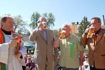 Zahájení pivní sezóny v Chodové Plané.