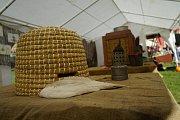 V areálu kladrubského kláštera se uskutečnil další ročník Slavností vína a medu.