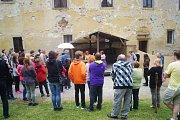 Benediktinské dny zavítaly také do kláštera v Kladrubech. Zde se uskutečnily speciální oživené noční prohlídky.