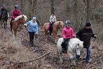 Členové jezdeckého klubu v Kladrubech si doslova skočili do roku 2019.