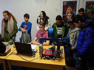 V Muzeu Českého lesa se uskutečnil Den vědy a techniky.