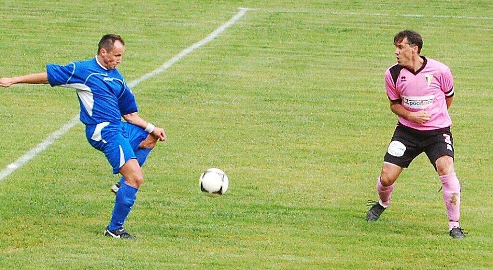 Fotbal – 1.A třída: T. Přimda –  TJ Zruč 1:3